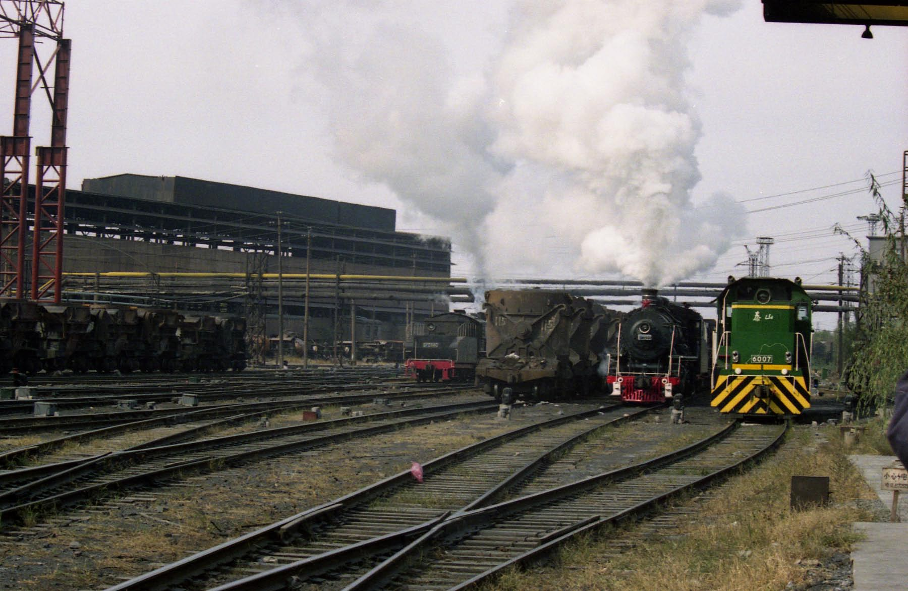 SY and diesel at Anshan Steelworks