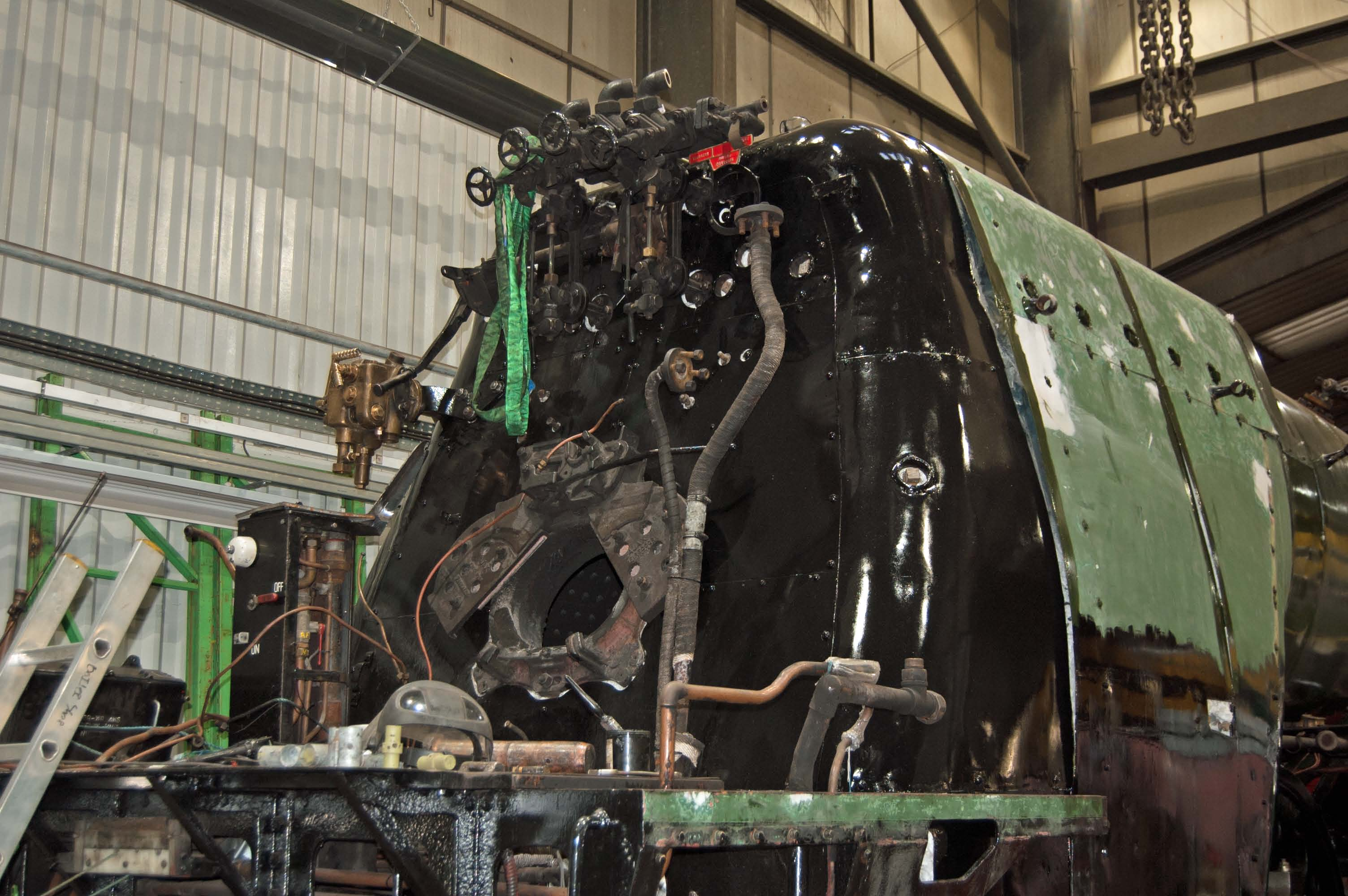 More cab fittings have been added
